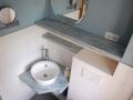 WC/Dusche im Erdgeschoss