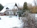 Hinaus in den Schnee